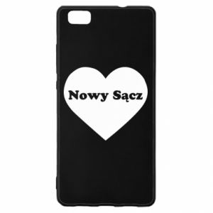Huawei P8 Lite Case I love Nowy Sacz