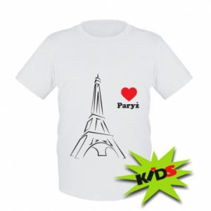 Kids T-shirt Paris I love you
