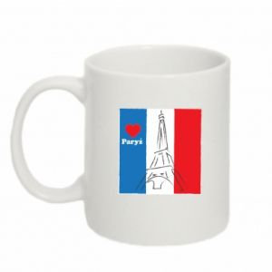 Mug 330ml I love Paris