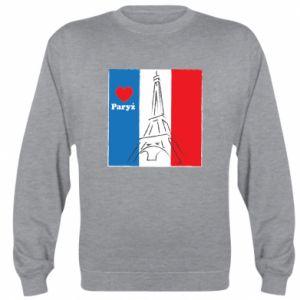 Bluza (raglan) Kocham Paryż