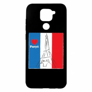 Xiaomi Redmi Note 9 / Redmi 10X case % print% I love Paris