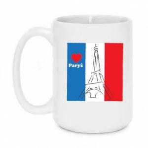 Kubek 450ml Kocham Paryż
