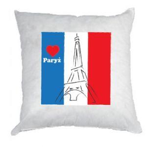 Poduszka Kocham Paryż