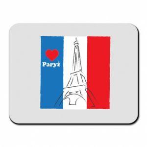 Podkładka pod mysz Kocham Paryż