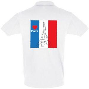 Koszulka Polo Kocham Paryż
