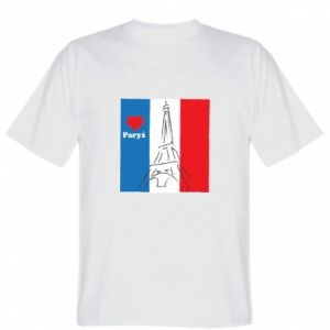 T-shirt I love Paris