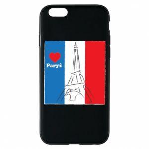 Etui na iPhone 6/6S Kocham Paryż
