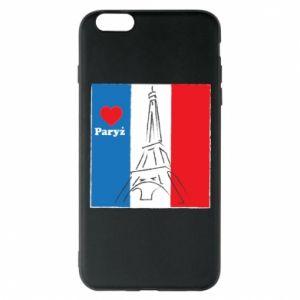 Etui na iPhone 6 Plus/6S Plus Kocham Paryż