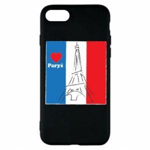 Etui na iPhone 7 Kocham Paryż