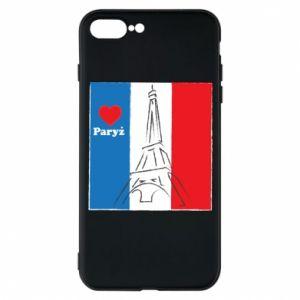 Etui na iPhone 7 Plus Kocham Paryż