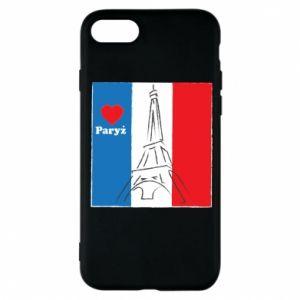 Etui na iPhone 8 Kocham Paryż