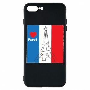 Etui na iPhone 8 Plus Kocham Paryż