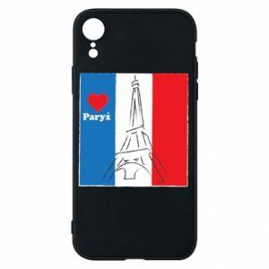 Etui na iPhone XR Kocham Paryż