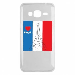 Etui na Samsung J3 2016 Kocham Paryż