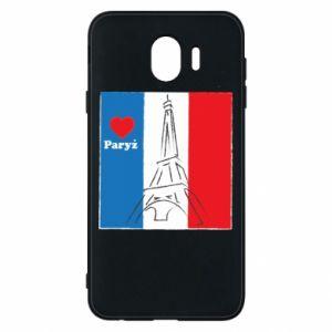 Etui na Samsung J4 Kocham Paryż