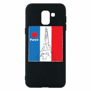 Etui na Samsung J6 Kocham Paryż
