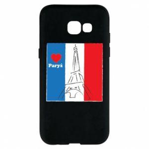 Etui na Samsung A5 2017 Kocham Paryż