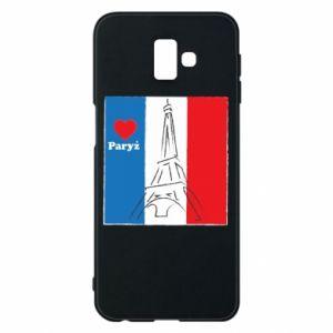 Etui na Samsung J6 Plus 2018 Kocham Paryż