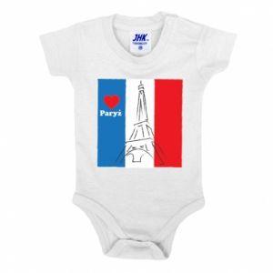 Body dla dzieci Kocham Paryż