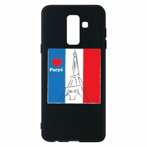 Etui na Samsung A6+ 2018 Kocham Paryż