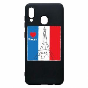 Etui na Samsung A30 Kocham Paryż