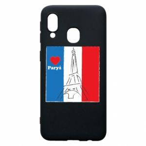 Etui na Samsung A40 Kocham Paryż