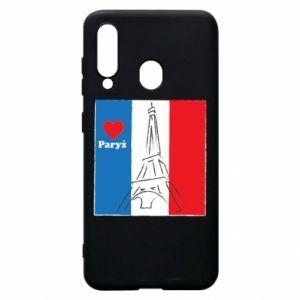 Etui na Samsung A60 Kocham Paryż
