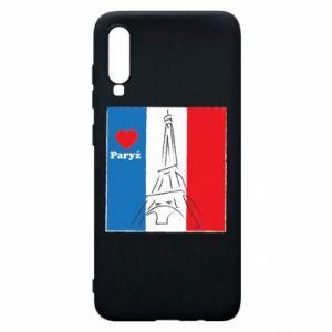Etui na Samsung A70 Kocham Paryż