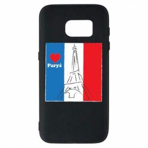 Etui na Samsung S7 Kocham Paryż