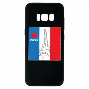 Etui na Samsung S8 Kocham Paryż