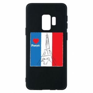 Etui na Samsung S9 Kocham Paryż