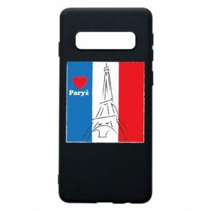 Etui na Samsung S10 Kocham Paryż