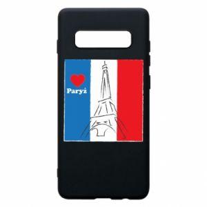 Etui na Samsung S10+ Kocham Paryż