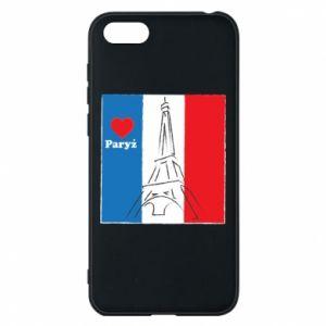 Etui na Huawei Y5 2018 Kocham Paryż