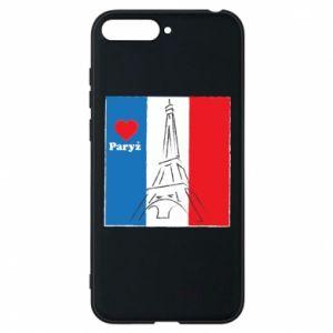 Etui na Huawei Y6 2018 Kocham Paryż