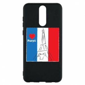 Etui na Huawei Mate 10 Lite Kocham Paryż