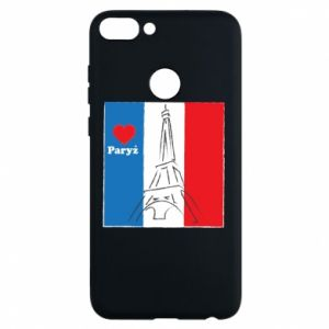 Etui na Huawei P Smart Kocham Paryż