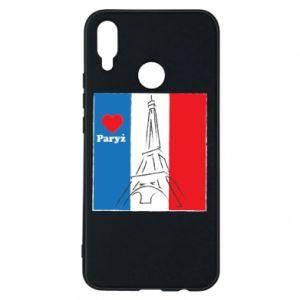 Etui na Huawei P Smart Plus Kocham Paryż