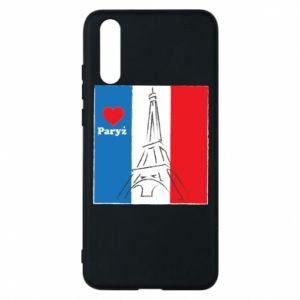 Etui na Huawei P20 Kocham Paryż