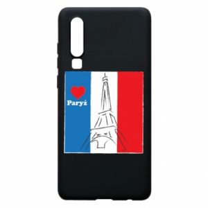 Etui na Huawei P30 Kocham Paryż