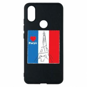 Etui na Xiaomi Mi A2 Kocham Paryż