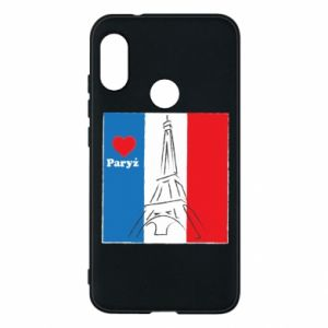 Etui na Mi A2 Lite Kocham Paryż