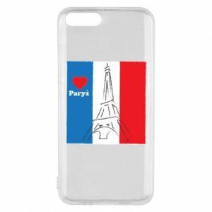 Etui na Xiaomi Mi6 Kocham Paryż