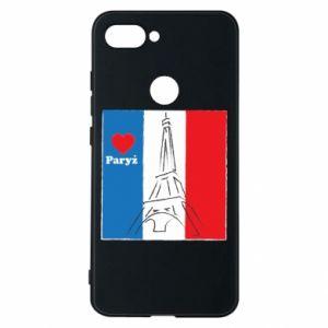 Etui na Xiaomi Mi8 Lite Kocham Paryż