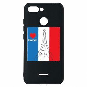 Etui na Xiaomi Redmi 6 Kocham Paryż