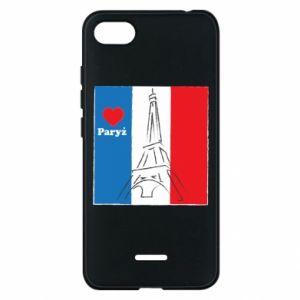 Etui na Xiaomi Redmi 6A Kocham Paryż