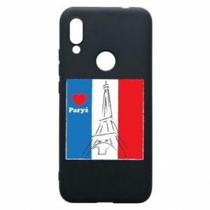 Etui na Xiaomi Redmi 7 Kocham Paryż