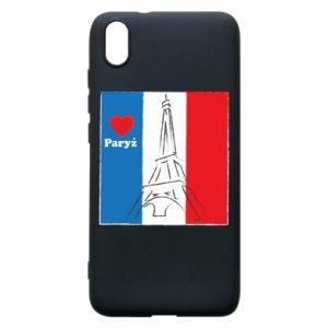 Etui na Xiaomi Redmi 7A Kocham Paryż
