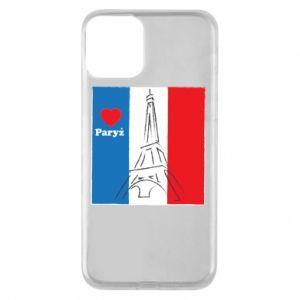 Etui na iPhone 11 Kocham Paryż