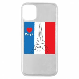 Etui na iPhone 11 Pro Kocham Paryż